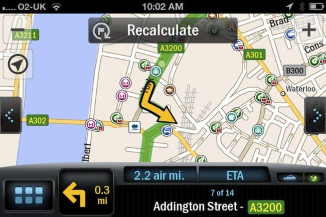 CoPilot GPS app enables offline guidance - photo 3