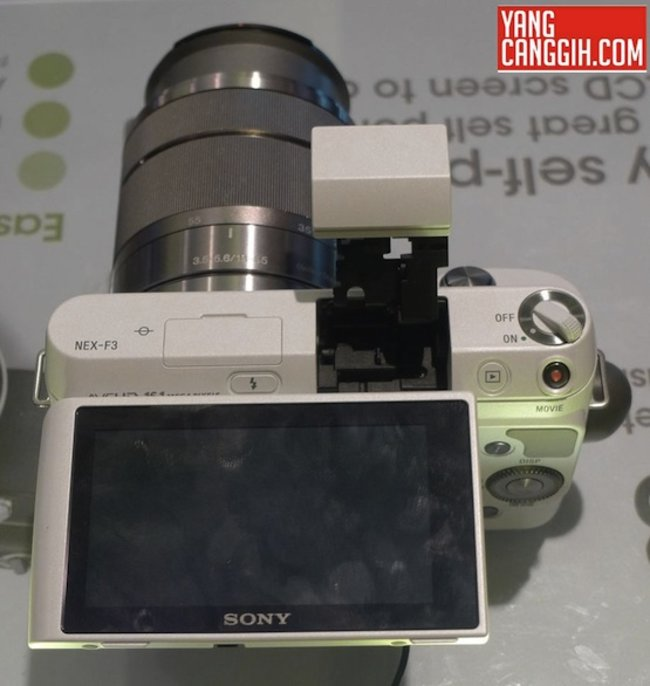 Sony a37 and NEX-F3 camera specs leaked - photo 6