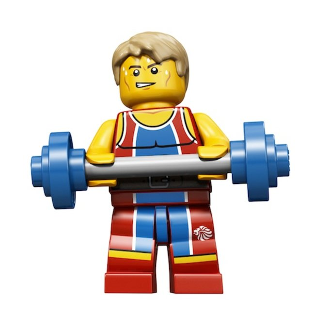 Lego creates exclusive Team GB Olympic minifigs - photo 6