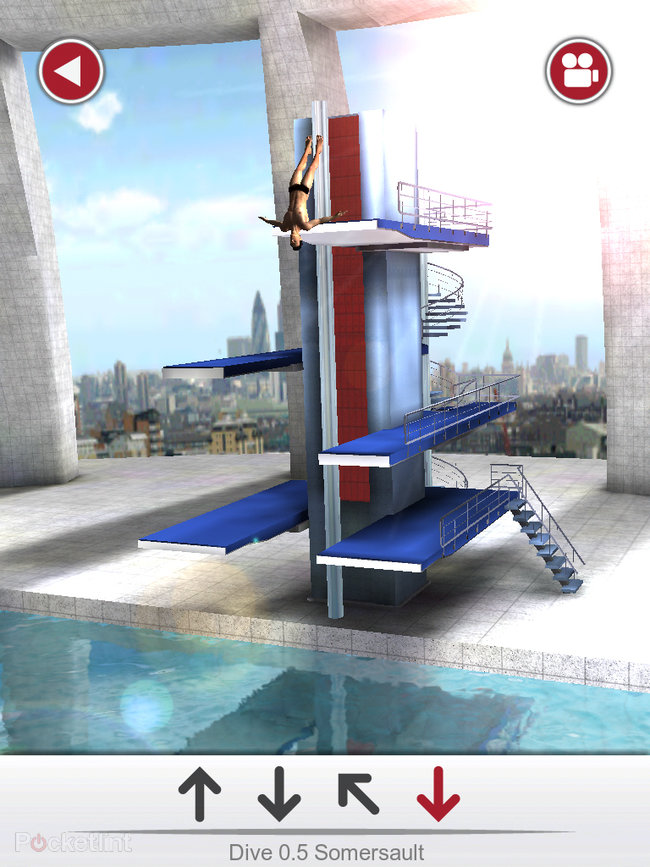 APP OF THE DAY: Tom Daley Dive 2012 review (iPad / iPhone / iPod touch) - photo 11