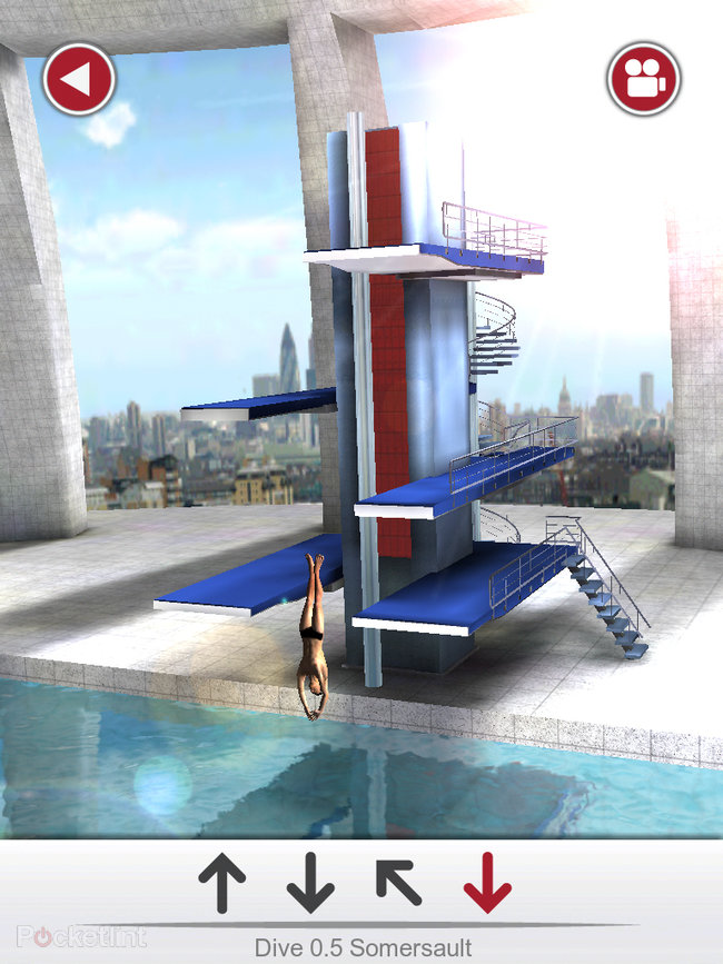 APP OF THE DAY: Tom Daley Dive 2012 review (iPad / iPhone / iPod touch) - photo 12