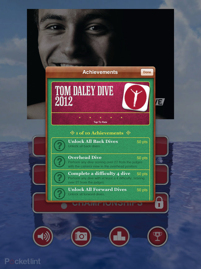 APP OF THE DAY: Tom Daley Dive 2012 review (iPad / iPhone / iPod touch) - photo 16