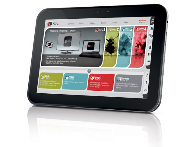 Toshiba AT300: The quad-core 10.1-inch ICS Android tablet  - photo 2