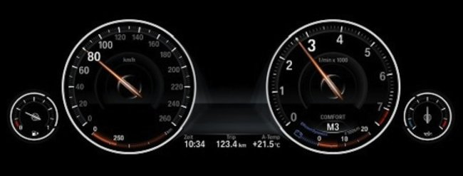 BMW lets drivers customise their 5-Series driving panel - photo 3
