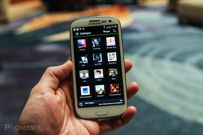 Samsung Music Hub: Samsung's streaming iTunes service debuts on Galaxy S3, has eyes on your TV and fridge - photo 2