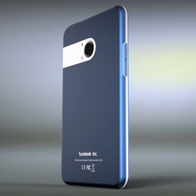 The Facebook Phone concept that is very blue - photo 2