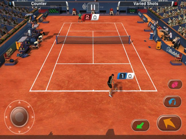 APP OF THE DAY: Virtua Tennis Challenge review (iPad / iPhone) - photo 19