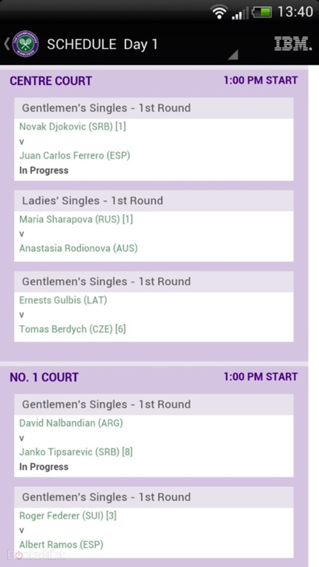 APP OF THE DAY: Wimbledon review (Android) - photo 6