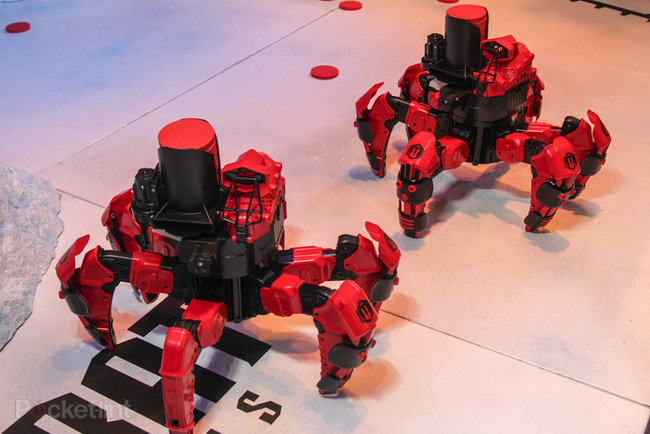 Attacknid six-legged radio-controlled robot has plans to be this year's must-have toy   - photo 6