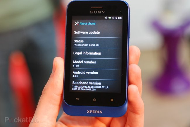 Sony Xperia Tipo pictures and hands-on - photo 2