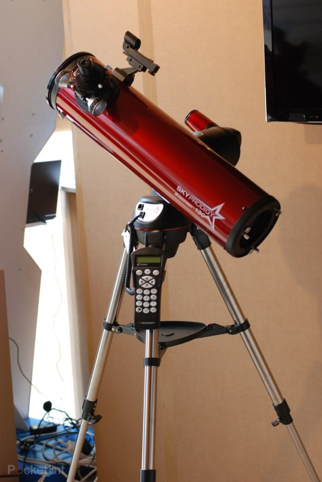 Celestron SkyProdigy 130 telescope pictures and hands-on - photo 10