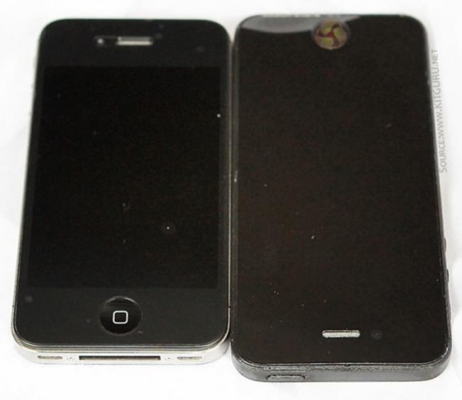New iPhone 5 pictures leaked, full phone this time - confirm longer screen - photo 2