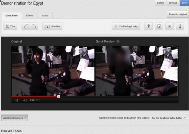 YouTube introduces face blurring tool - photo 1