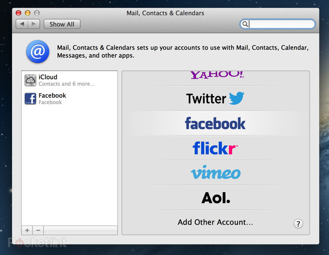 Facebook in OS X Mountain Lion details, we go hands-on - photo 2