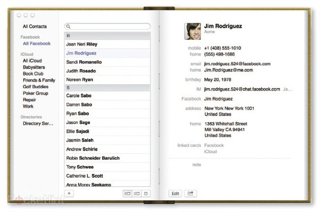 Facebook in OS X Mountain Lion details, we go hands-on - photo 6