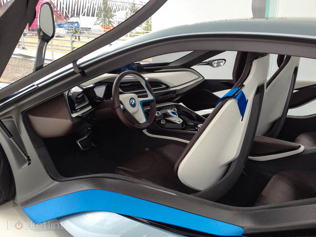 BMW i3 and i8 concept cars race into Olympic Park - photo 6