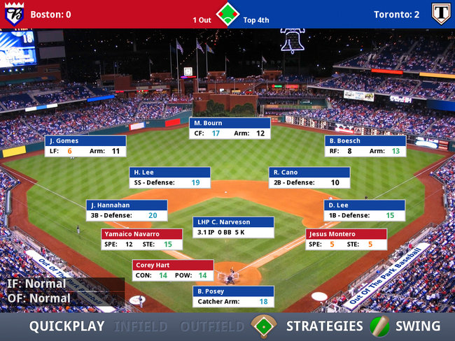APP OF THE DAY: iOOTP Baseball 2012 Edition review (iPad / iPhone / iPod touch) - photo 11