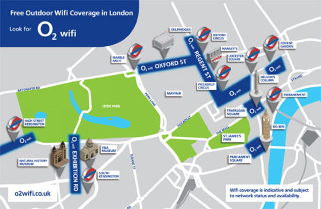 O2 rolls out free Wi-Fi across London for one and all - photo 2