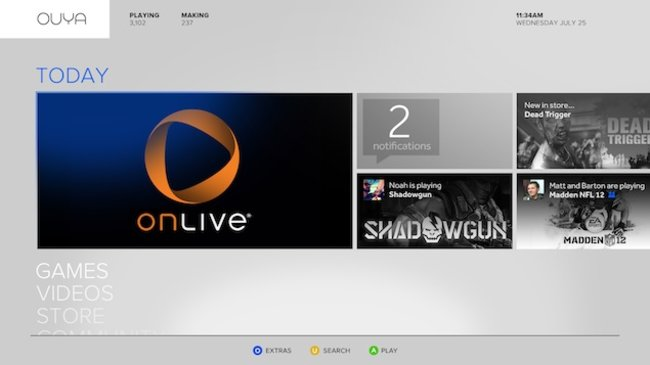OUYA gets OnLive backing meaning hundreds of top tier games from launch - photo 1