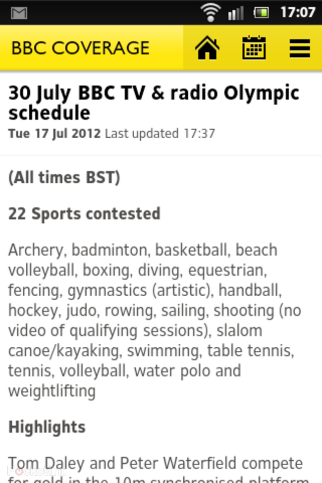 APP OF THE DAY: BBC Olympics review (Android/iPhone) - photo 6