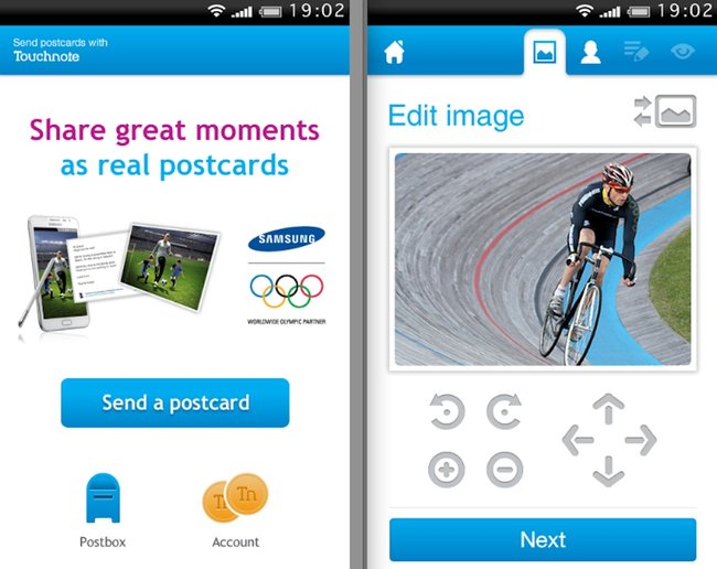 Touchnote and Samsung will deliver your postcards for free this summer - photo 2