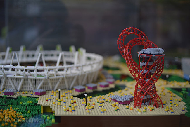 Lego-built London 2012 Olympic Park pictures and eyes-on - photo 1