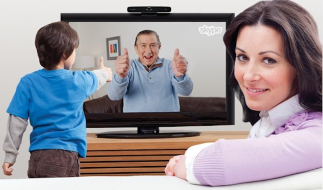 Skype calls on HDTV thanks to Logitech TV Cam HD  - photo 1