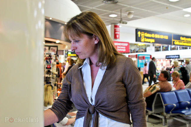 Tesco trials interactive virtual store at Gatwick Airport, for holidaymakers to pre-order groceries - photo 15