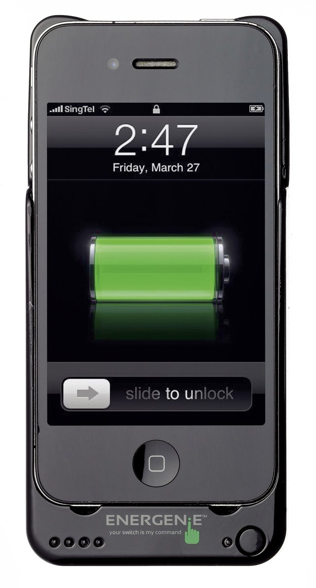 Energenie protective case doubles iPhone's battery life - photo 4