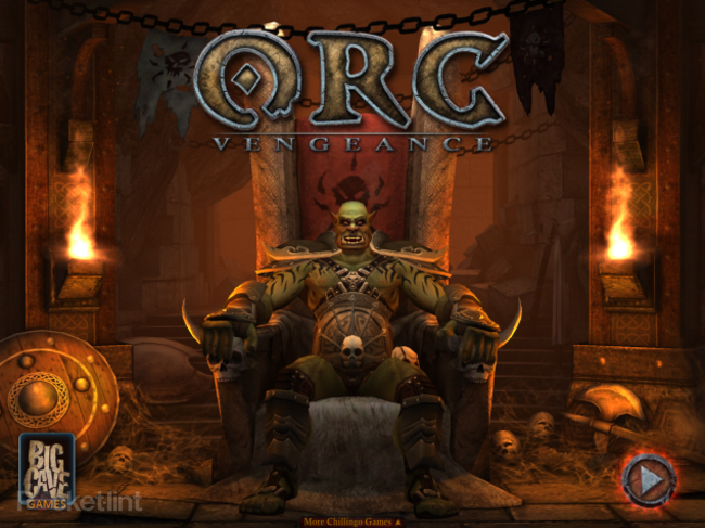 APP OF THE DAY: ORC: Vengeance review (iPad and iPhone) - photo 1