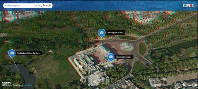 Nokia rocks out 3D world map, but don't forget your glasses - photo 2