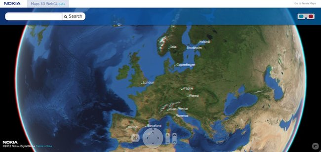 Nokia rocks out 3D world map, but don't forget your glasses - photo 3
