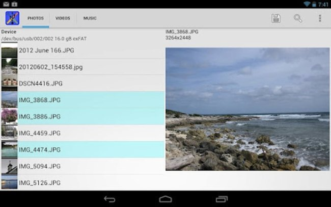 Nexus 7 gets USB drive support thanks to new app - photo 2