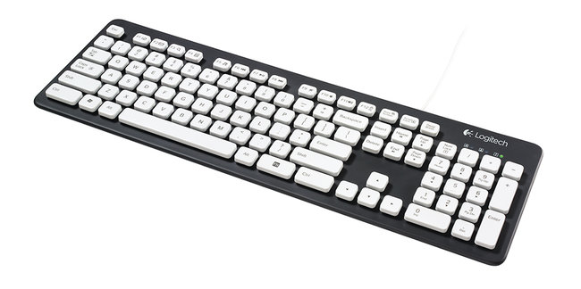 Logitech Washable Keyboard K310: Now you can rinse off your mess - photo 3