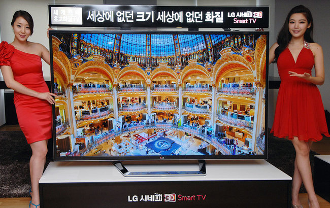LG's 84-inch 3D Ultra Definition TV starts to hit markets, at last - photo 2