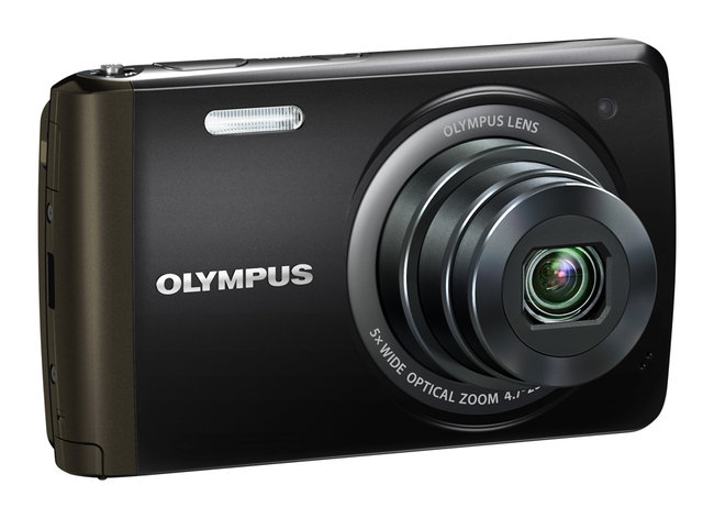 Olympus VH-410 touchscreen-controlled compact camera - photo 2