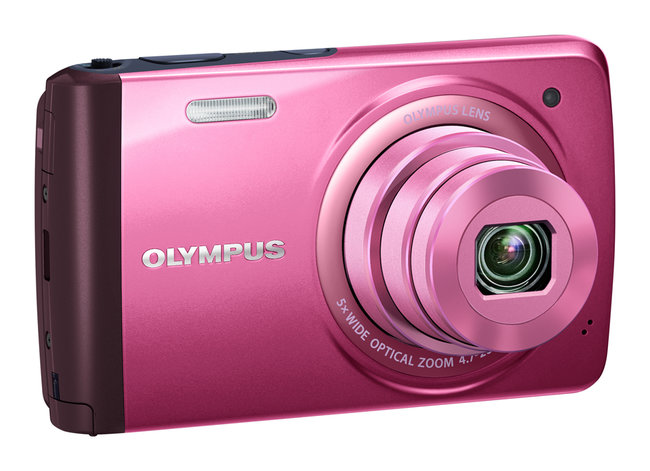 Olympus VH-410 touchscreen-controlled compact camera - photo 3