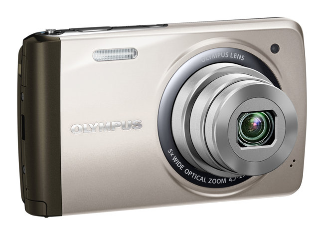 Olympus VH-410 touchscreen-controlled compact camera - photo 4