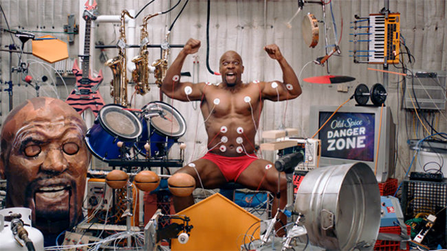 Interactive Old Spice Muscle Music is best viral ever... fact! (video) - photo 1