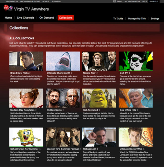 Virgin TV Anywhere iOS app revealed, ideal companion to your TiVo box - photo 3