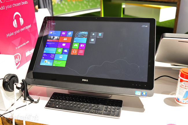 Dell XPS One 27 touch screen pictures and hands-on - photo 1