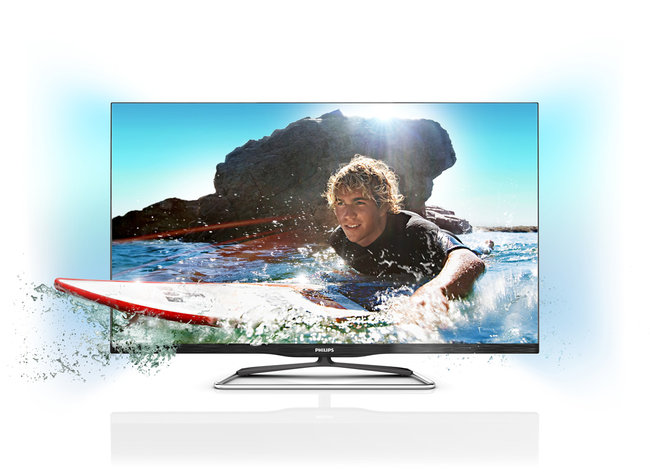 Philips 6900 Smart TVs ditch the frame   - photo 2
