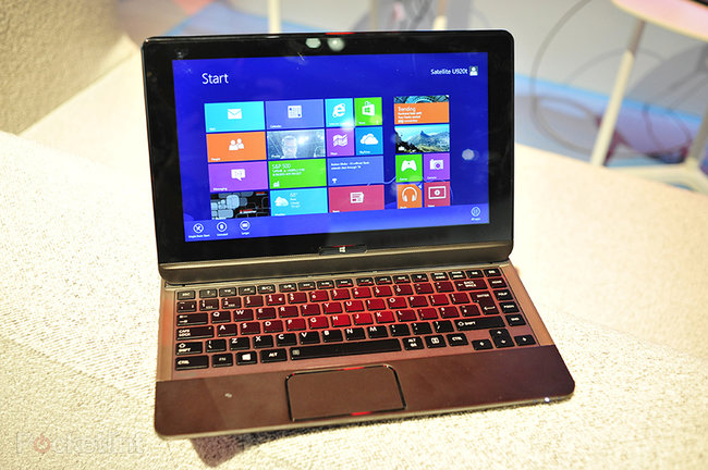 Toshiba Satellite U920T pictures and hands-on - photo 2