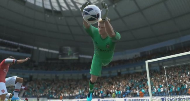 New FIFA 13 video starring Joe Hart, Alex Oxlade-Chamberlain and Messi (obviously) - photo 6