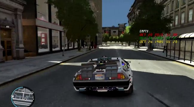 Ever wanted to play as Marty McFly in GTA IV? Now you can with the Back to the Future mod (video) - photo 3