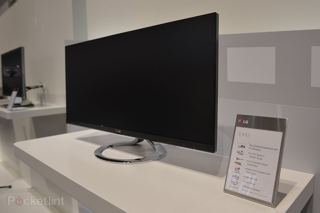 LG EA93 21:9 widescreen monitor pictures and hands-on - photo 3