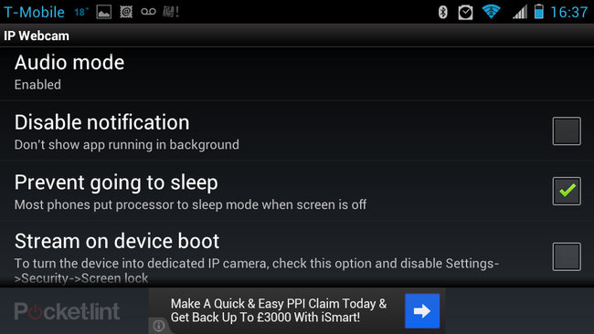 APP OF THE DAY: IP Webcam review (Android) - photo 13