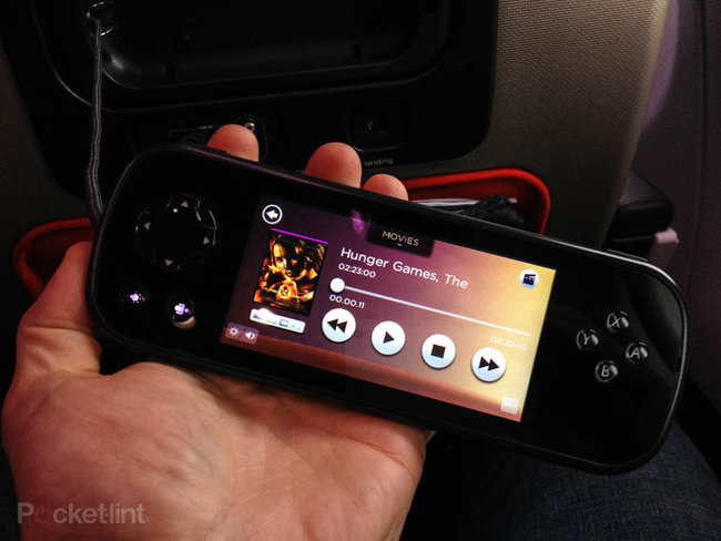 Virgin Atlantic's new in-flight entertainment system pictures and hands-on - photo 2