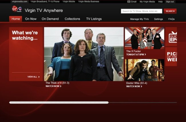 Virgin Media launches Virgin TV Anywhere for live streaming and video on demand - photo 1