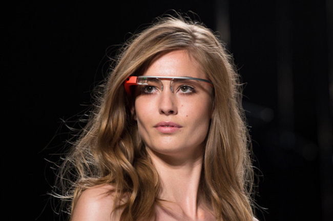Google Glass hits the catwalk as models strut their high tech stuff - photo 1